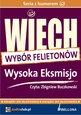 """Wysoka Eksmisjo (wybrane felietony) - audiobook - Stefan Wiechecki """"Wiech"""
