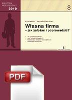 :: Własna Firma - jak założyć i poprowadzić? - pobierz e-book ::