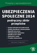 :: Ubezpieczenia społeczne 2014. Podręczny zbiór przepisów- ebook - pobierz e-book ::