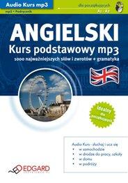 Angielski podstawowy, kurs audio, mp3 - wydanie elektroniczne, AudioBook, Książka Audio, mp3