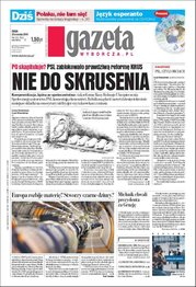 Gazeta Wyborcza - Warszawa - wydanie darmowe – 212/2008
