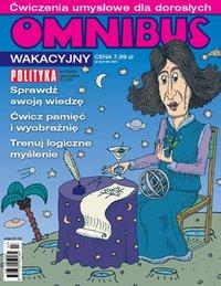 Omnibus wakacyjny - ćwiczenia umysłowe dla dorosłych - Wydanie specjalne Polityki - e-wydanie
