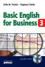Basic English for Business 3 -książka z płytą CD – książka
