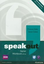 Speakout Starter Workbook with key + CD – książka
