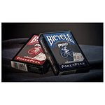 Bicycle PRO RED & BLUE MIX DECK – gra