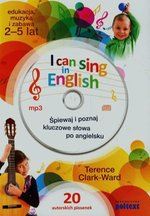 I can sing in English + CD – książka