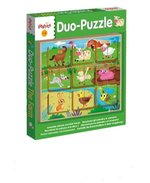 Ludattica Legno Puzzle-Duo The Farm – gra