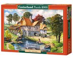 Puzzle Water Mill Cottage 2000 – gra