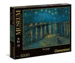 Puzzle Museum Collection  Van Gogh Starry Night on the Rhone 1000 – gra