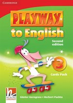 Playway to English 3 Flash Cards Pack – zabawka