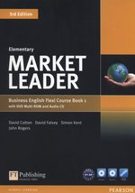 Market Leader Elementary Flexi Course Book 1+CD +DVD – książka