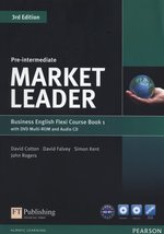 Market Leader Pre-Intermediate Flexi Course Book 1 +CD +DVD – książka