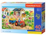 Puzzle Maxi Life on the Farm 40 – gra