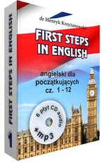 First Steps in English 1+ 6 CD+MP3 – gra