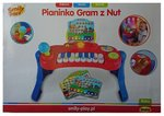 Pianinko Gram z nut Smily play – zabawka