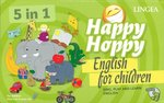 Happy Hoppy English for children 5w1 Gry i zabawy z angielskim – gra