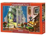 Puzzle 1000 Doorway Room View – gra