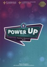 Power Up 6 Teacher's Resource Book with Online Audio – książka