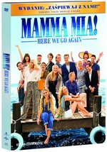 Mamma Mia Here We Go Again DVD+booklet – film