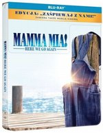 Mamma Mia: Here We Go Again (Steelbook) (Blu-ray) – film