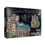 puzzle 3D: Wrebbit 3D Puzzle Gra o Tron Red Keep 845 – gra