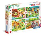 Puzzle 4w1 2x20 + 2x60 SuperColor The Farm – gra