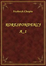 ebooki: Korespondencja 1 – ebook