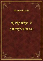 ebooki: Korsarz Z Saint-Malo – ebook