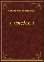 O Umyśle I – ebook