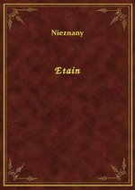 Etain – ebook