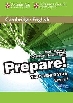 gry i puzzle: Cambridge English Prepare! Test Generator Level 7 CD-ROM – gra