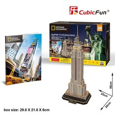 gry i puzzle: Puzzle 3D National Geographic Empire State Building – gra