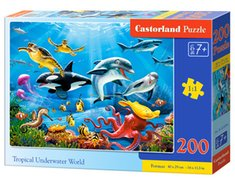 gry i puzzle: Puzzle Tropical Underwater World 200 – gra