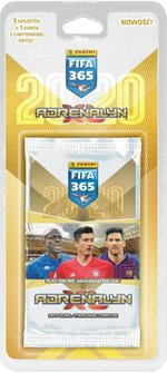 gry i puzzle: FIFA 365 Adrenalyn XL 2020 Blister 5+1 – gra