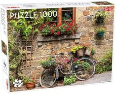 gry i puzzle: Puzzle Flowers at the wall 1000 – gra