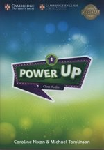 programy edukacyjne: Power Up 1 Class Audio CDs – gra