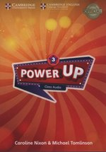 programy edukacyjne: Power Up 3 Class Audio CDs – gra