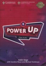 programy edukacyjne: Power Up Level 5 Class Audio CDs – gra
