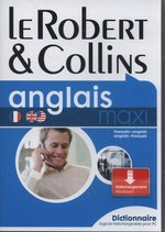 słowniki i translatory: Robert & Collins anglais maxi Dictionnaire – gra