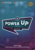 programy edukacyjne: Power Up 6 Class Audio CDs – gra
