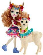 lalki: Enchantimals Lluella Llama & Fleecy – zabawka