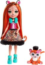 lalki: Enchantimals Tanzie Tiger & Tuft – zabawka