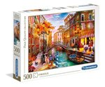 puzzle : Puzzle High Quality Collection Sunset over Venice 500 – gra