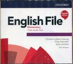 programy edukacyjne: English File Elementary Class Audio CDs – gra