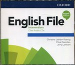 programy edukacyjne: English File Intermedite Class Audio CDs – gra