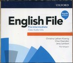 programy edukacyjne: English File Pre-Intermediate Class Audio CDs – gra