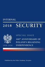 literatura obcojęzyczna: Internal security special issue 100 anniversary of Poland's regaining independence – ebook