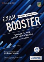 językoznawstwo: Exam Booster for A2 Key and A2 Key for Schools without Answer Key with Audio for the Revised 2020 Exams – książka