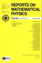 Raport on Mathematical Physics 85/1 Polska – książka