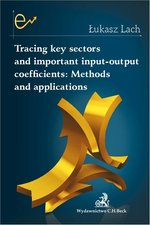 Tracing key sectors and important input-output coefficients Methods and applications – książka